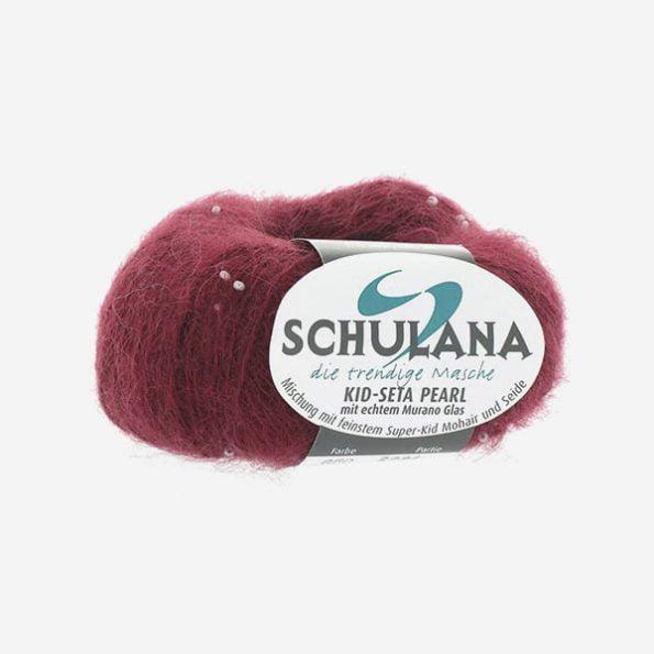 Schulana Kid-Seta Pearl produktbild - ljuvlig blandning av mohair och silke