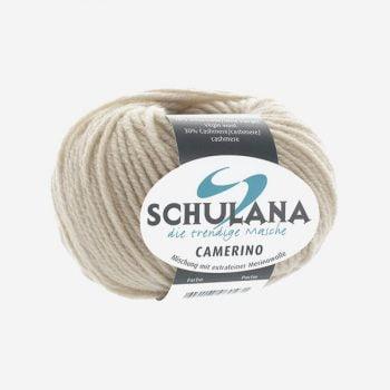 Schulana Camerino produktbild - Lättstickat med cashmere och lammull