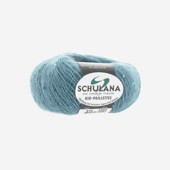 Schulana Kid-Seta Paillettes produktbild - ljuvlig blandning av mohair och silke