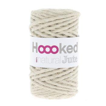 100% Natural Jute produktbild Vanilla Cream - robust vegetabilisk jute fiber