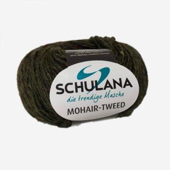 Schulana Mohair Tweed produktbild - Bra blandning Lammull och Mohair
