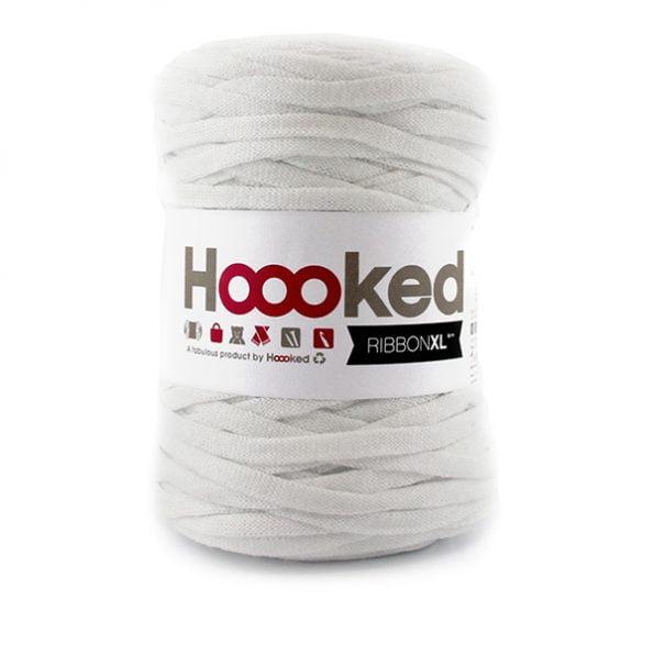 Ribbon XL garn produktbild Optice White - Zpagettis lätta syster