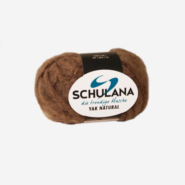 Schulana YAK Natural produktbild - extremt mjukt och gosigt garn