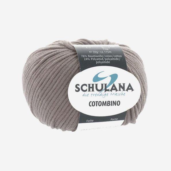 Schulana Cotombino produktbild - stretchigt bandgarn i bomull