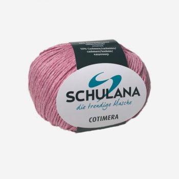 Schulana Cotimera produktbild - Lättstickat i bomull och cashmere