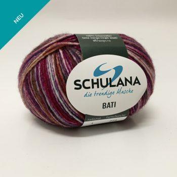 Schulana Bati produktbild - Det lättstickade flerfärgade garnet i lammull