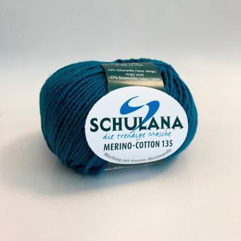 Schulana 135 Merino-Cotton produktbild - 135 meter ljuvligt garn